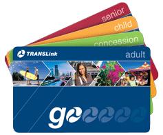Translink Go Cards