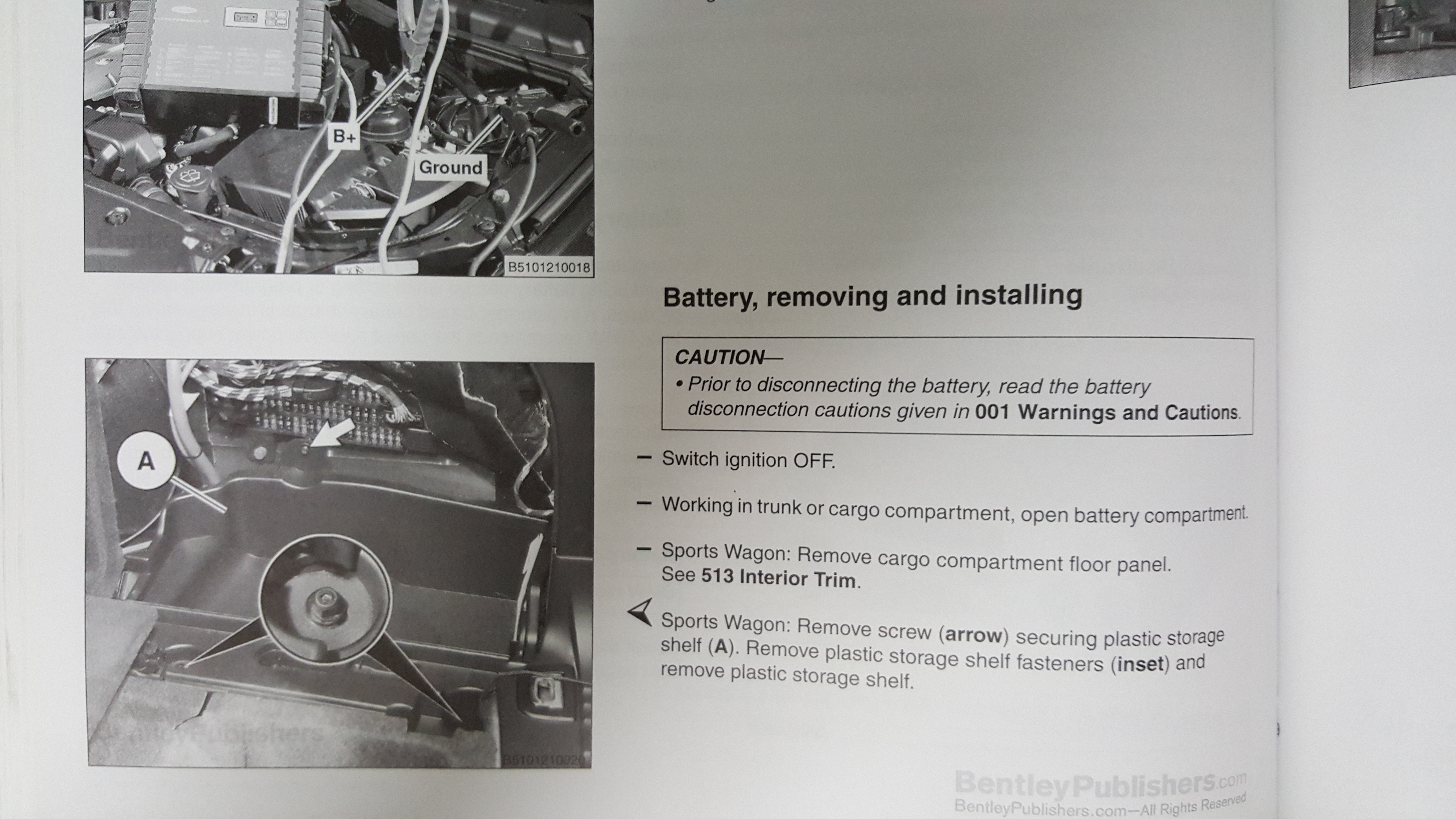 Replacing A Bmw Battery I Like Kill Nerds Wiring Diagram Further 2 Way Switch On Read Bentley 1