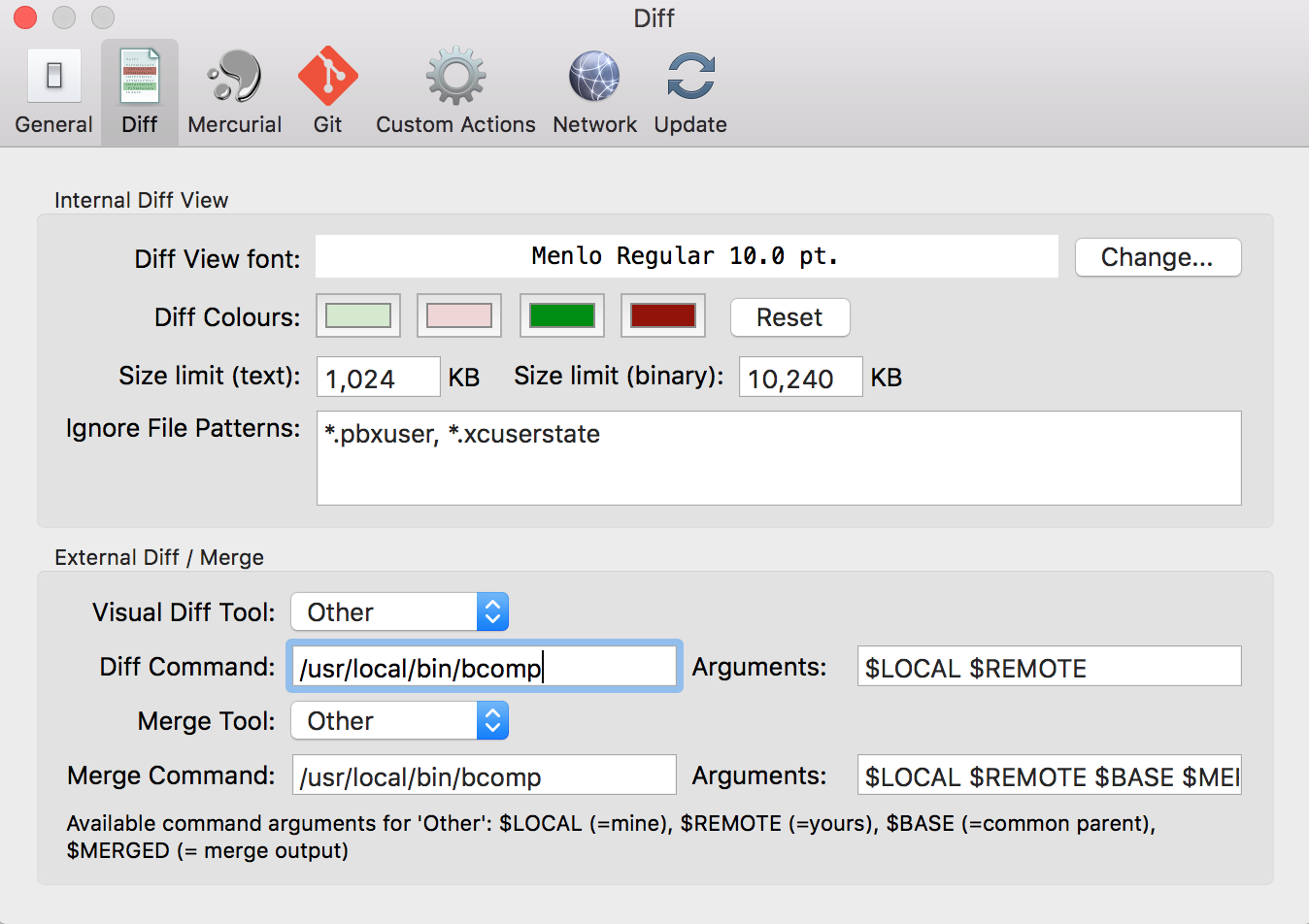 Using Beyond Compare With Sourcetree For Mac - I Like Kill Nerds